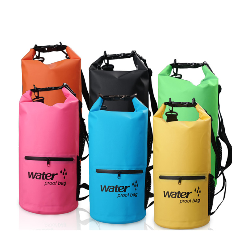 10L 20L Portátil de almacenamiento a prueba de agua Mochila de bolsa - Mochilas