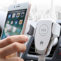 Carregador de carro automático 10 w carregador sem fio do carro para xiaomi 9 iphonex carga rápida carregador rápido para samsung s10 iphone8 huawei p20|Carregadores de celular|   -