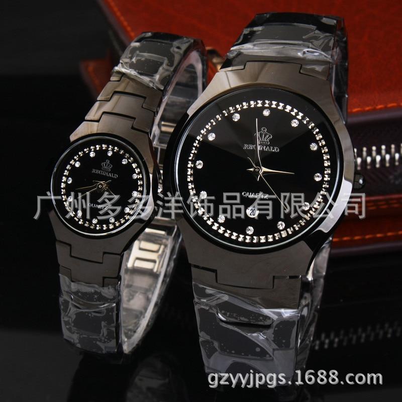 HK crown de Luxo Amantes Casais Diamantes