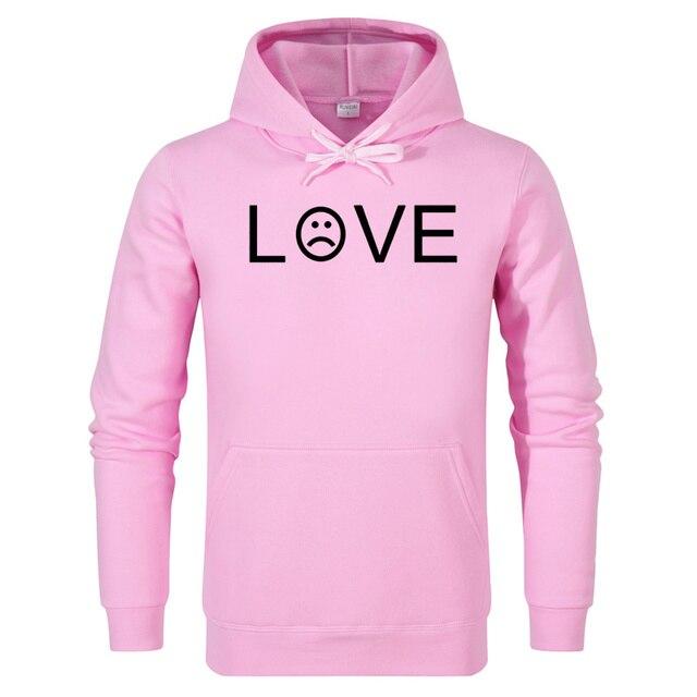 df6a97e795b76 AIANXIN Lil Peep LOVE Sweatshirt Men Women Casual Pullover Hip Hop Lil Peep  Rapper Hoodies Sad