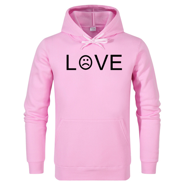 Rumeiai Lil Peep amor sudadera hombres mujeres casual pullover hip hop Lil  Peep rapper Sudaderas triste 3be064f6bdf