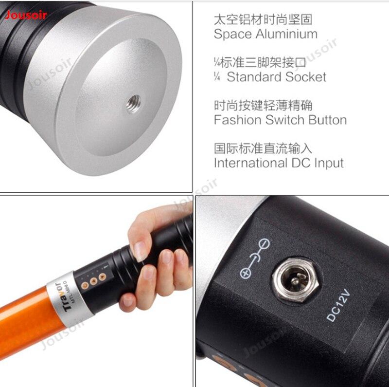 Mini portátil de Color doble temperatura fotografía recarga palo fuera disparando como lámpara pequeña palo de Luz Portátil CD50 T03 - 5