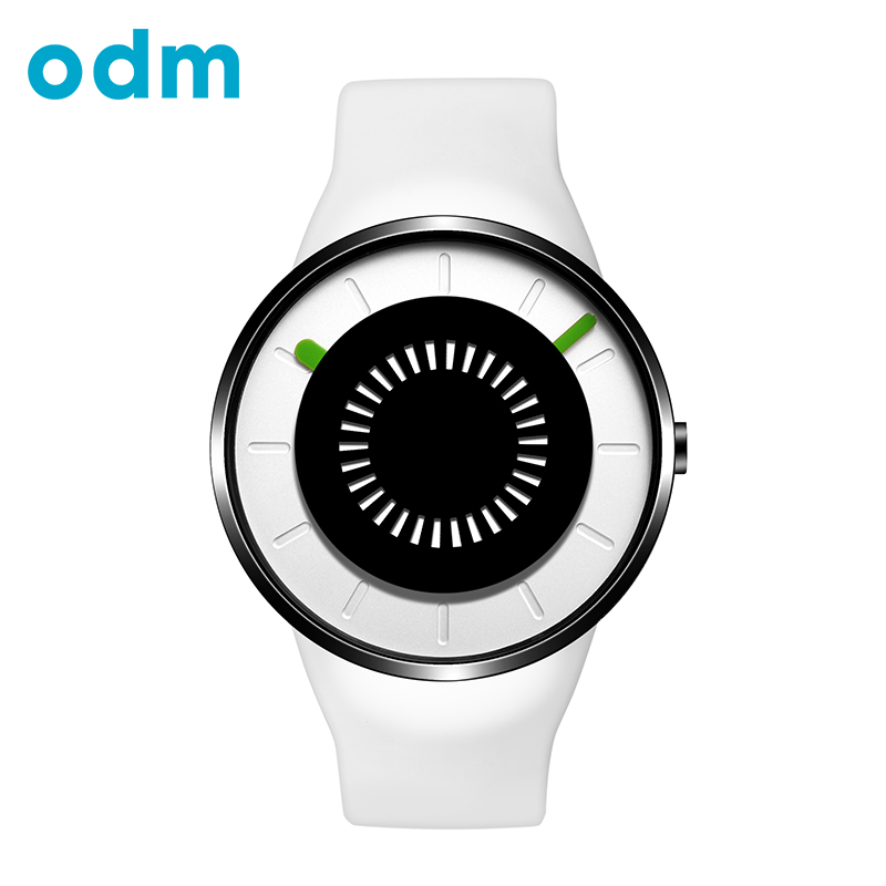 ODM Famous Brand Trend Unique Design Sports Mens Quartz Watch Luxury Silicone Strap Women Waterproof Wristwatch For Lovers DD162 popular black skull sports watch silicone bands touch screen led watch women mens free shipping gitt for lovers couple