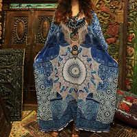 Vestido Maxi de Playa de algodón de talla grande para cubrir el traje de baño para cubrir la Salida de Playa 2019 traje de baño de Kaftan para cubrir Playeros