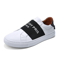 Fashion Loafers Men casual Shoes Soft Leather High Quality Men's Casual Shoes Male White Black Footwear