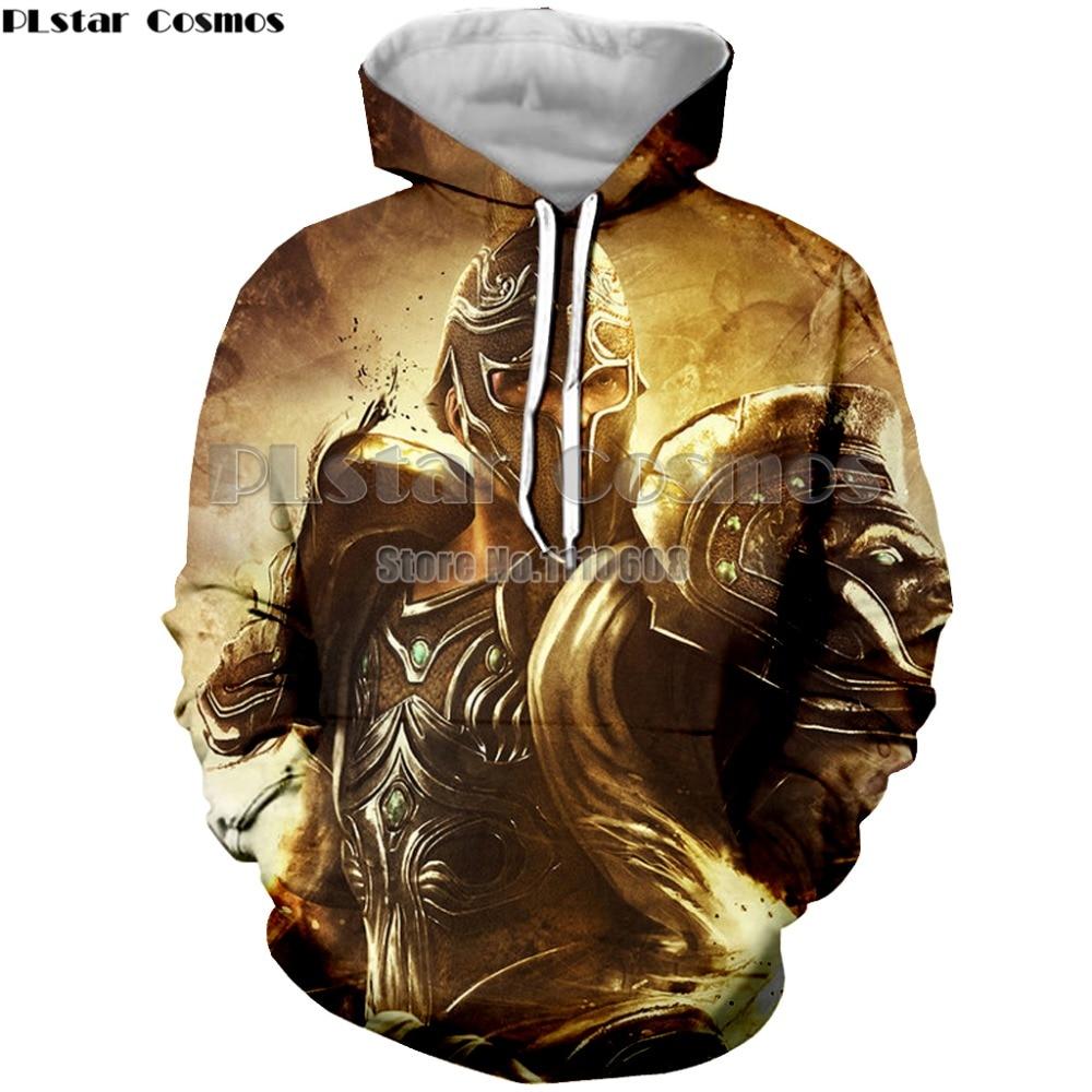 YX GIRL game God of war fashion hooded men women hoodies 3D printing unisex hoodies top brand clothing