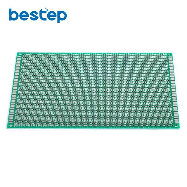 US $8 56  2PCS 12*18 Single Side Tin Plating Prototype PCB Universal Board  12x18mm-in Single-Sided PCB from Electronic Components & Supplies on