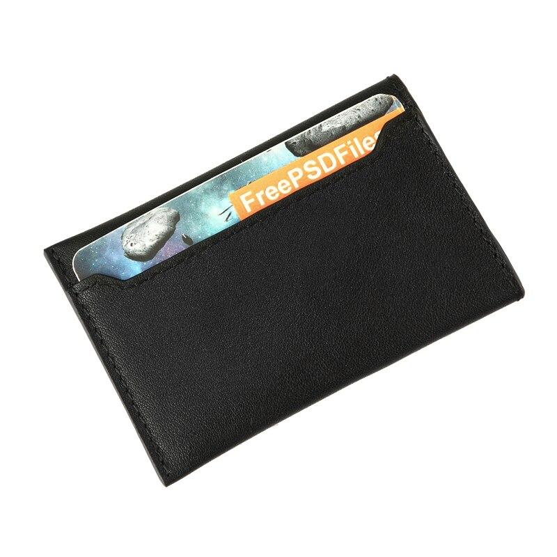 Ny Ankomst Kreditkort Hållare Män Mode Små Plånbok Porte Tarjetas - Plånböcker - Foto 1