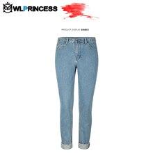Owlprincess Loose Straight Jeans Women Denim Pants New Boyfriend Pants Capris Trousers Fits Lady Jeans Women Jeans Plus Size