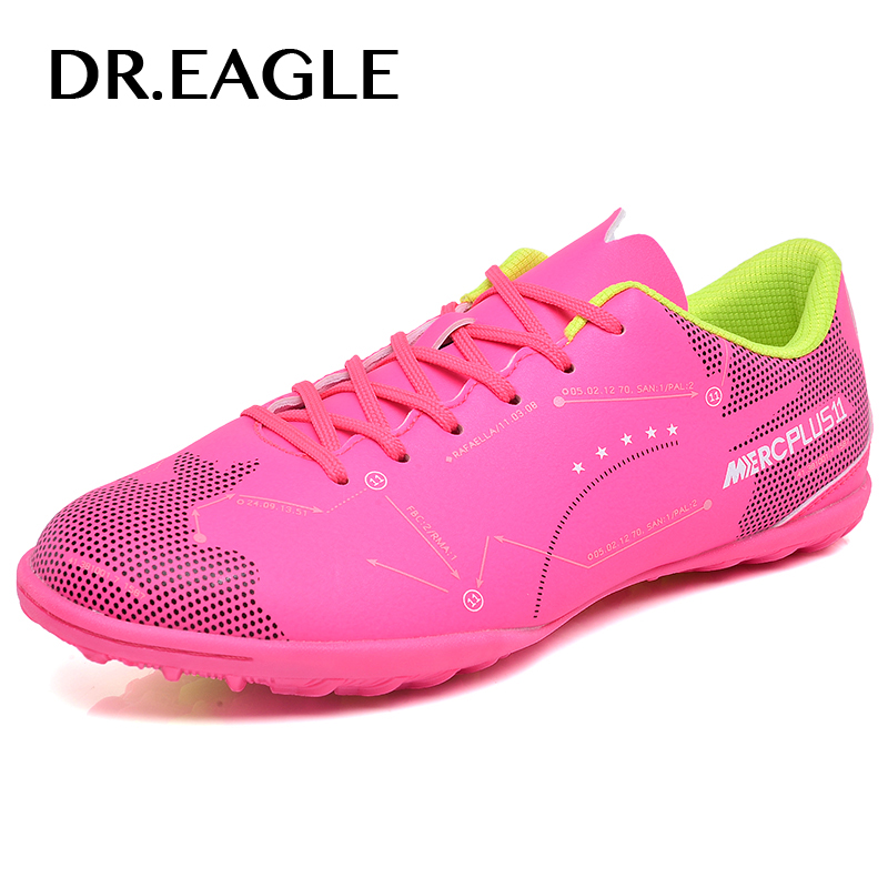 DREAGLE futzalki indoor tf sport child football for man the soccer shoes futsal boot boy ...