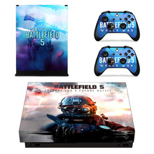Battlefield 5 Skin Sticker For Microsoft Xbox One X