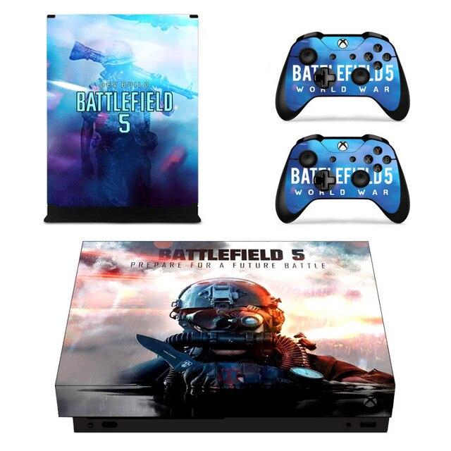 Bitwy 5 Naklejka Naklejka Skory Dla Microsoft Xbox One X I