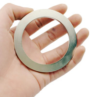 NdFeB Magnet Ring Dia. 50 65 70 80 mm Large Magnetic Ring Axially Magnetized Strong Neodymium Permanent Magnets 1pc Drop Ship