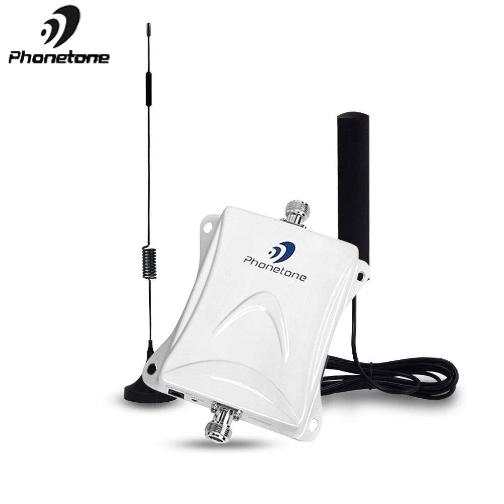 100% Original GSM 2G 3G LTE 4G 1800 MHz 45dB Handy Signal Booster Repeater Verstärker Kit für Auto Lkw RV Verwenden