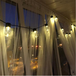 Image 5 - Dropship retro edison luz lâmpada estilo fada string luz impermeável ao ar livre luz interior 6m ac 110 v 220 v jardim decoração luminária