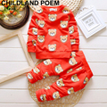 Winter Baby Boy Girl Pants Set Long Sleeve Bear Newborn Baby Suit Boy Clothing Sets Christmas Gift Suits Kids Clothes Set Infant