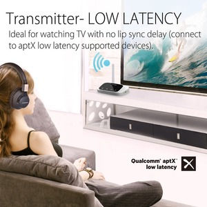 Image 3 - Abd yeni Avantree Oasis uzun menzilli Bluetooth verici alıcı TV ve PC için, aptX düşük gecikme kablosuz ses adaptörü