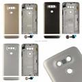 Gold Gray Silver For LG G5 H850 H840 F700 Battery Door Back Case Rear Cover Housing Lens Fingerprint Sensor + Bottom Cover
