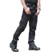 2017 New Autumn Tactical Pants Military Clothing Men's Casual Cargo Pants SWAT Combat Pants Man Trousers With Multi Pocket