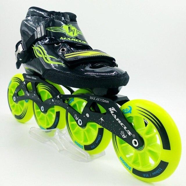Marcus profesional zapatos de patinaje de velocidad patinaje patines para  adultos hombres mujeres  7a5fdbdcf04