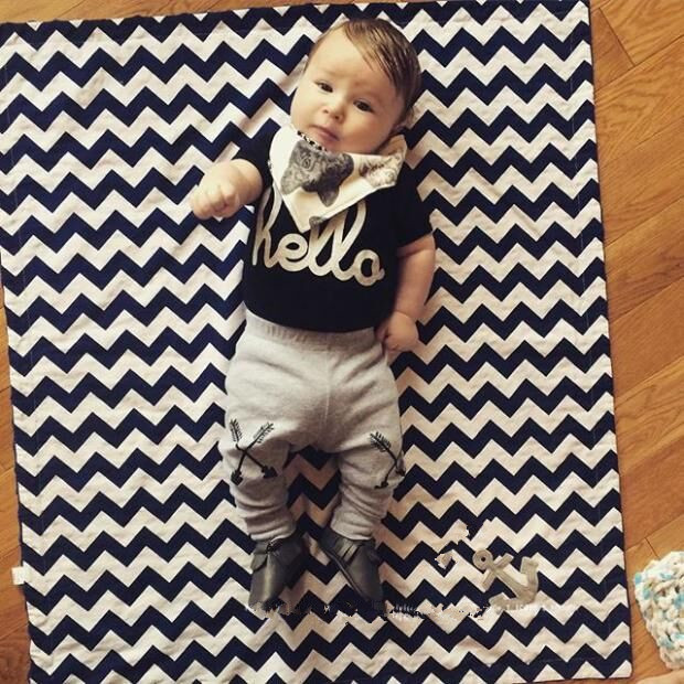92179f18625a 2018 New summer Baby boy clothes cotton Fashion letters printed T ...