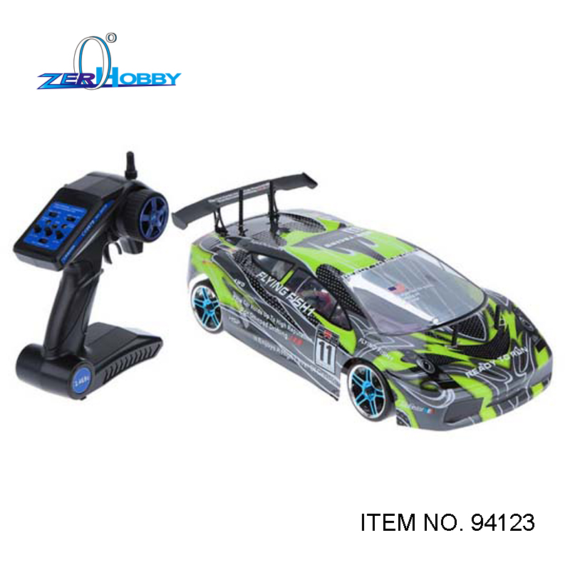 hsp flying fish 1 10 electric on road rc drift car with remote controller model no 94123 gn. Black Bedroom Furniture Sets. Home Design Ideas
