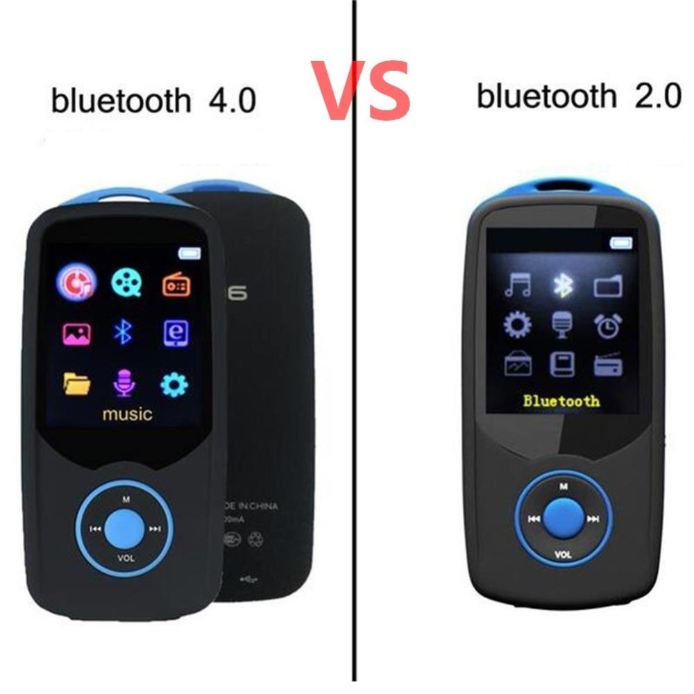 2018 New Version Bluetooth4.0 MP3 Player Original RUIZU X06 High Quality Lossless With Voice Recorder, FM Radio Mp3 Music Player
