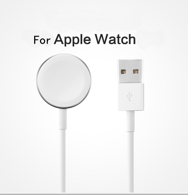 100 Original genuine for apple watch cable 30cm 1m 2m USB for apple watch charger 38mm