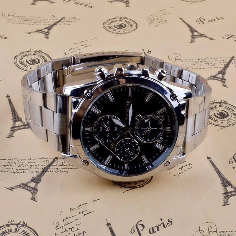 2019 Men's Luxury Quartz Watch Men Business Stainless Steel Band Sport Wristwatch Hour Clock Relogio Masculino Relojes Hombre