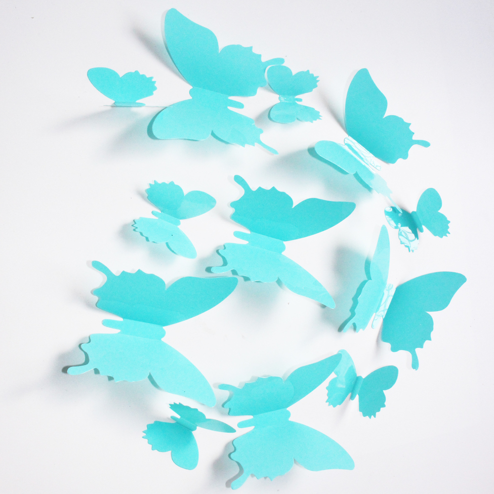 diy wall decor paper. Freeshipping 3D DIY Wall Sticker Butterfly Decor Home . Diy Paper O