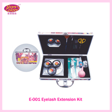 2017 Makeup False Eyelash Extension Cosmetic Set Kit Eye Individual Hand Made Natural Long Lashes Women