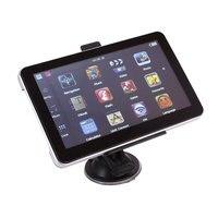 7 дюймов 8 ГБ автомобиля GPS Sat Nav Навигация Системы Сенсорный экран с ЕС Карты 704 Черный Авто GPS Сенсорный экран навигации
