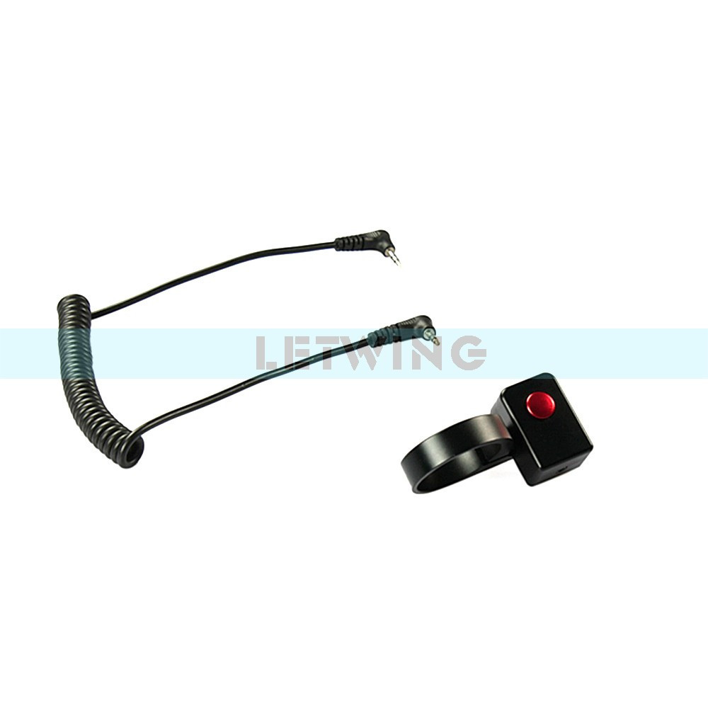 2x LANC-01 Controller Video Remote Control Camera Recording Switch for BMPCC