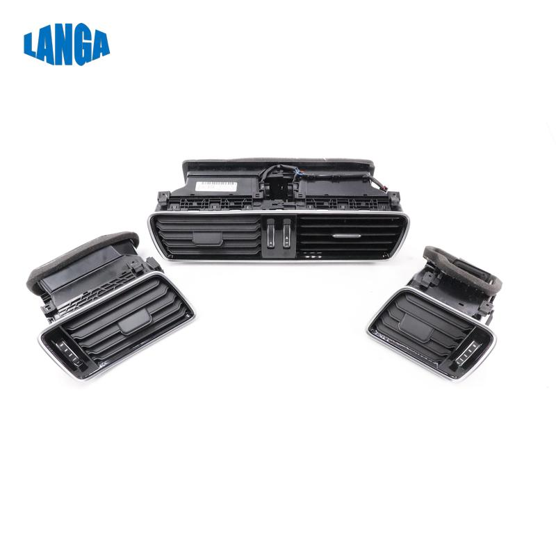 Genuine quality Chrome Black Air VenT Air Outlet Vent Housing for VW Passat B6 B7 CC R36 OE: 3AD819728A 3AD819702A 3AD 819 701A|Air-conditioning Installation| |  - title=
