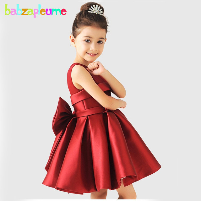04be2a0b550c 2-8Years 2016 Summer Children Costume Wedding Party Queen Dress Baby Girls  Clothing Kids Clothes Toddler Princess Dresses BC1309