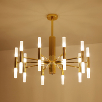Modern G4 Chandeliers Lighting Chandelier Lights Fixtures Pendientes Luminaire For Dining Room Restaurant Hotel Hanging Lamp