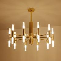 Modern G4 Chandeliers Lighting Chandelier Lights Fixtures Pendientes Luminaire For Dining Room Restaurant Hotel Hanging Lamp