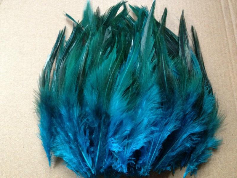 Горячая распродажа! 50 шт синее перо фазана, длина 10-15 см, DIY украшения для ювелирных изделий