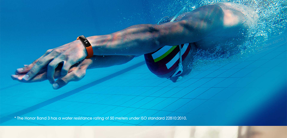 Waterproof heart rate monitor