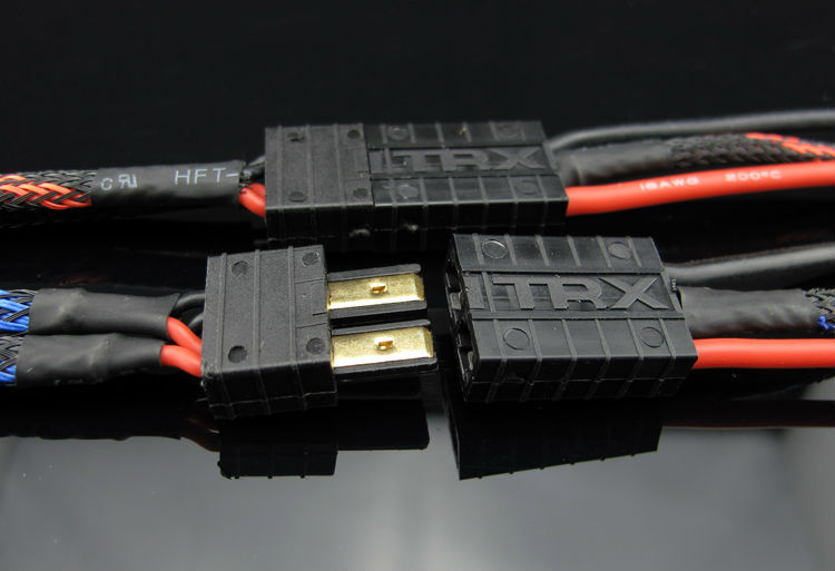 Hv-2 power plug 30a jr100 dual core 2s . switch Aviation model supplies