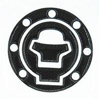 Hoge Kwaliteit Koolstofvezel Decoratieve Beschermende Label Sticker Gas Cap Tank Pad Decal GSXR 600 750 1300 Hayabusa Katana SV TL1000