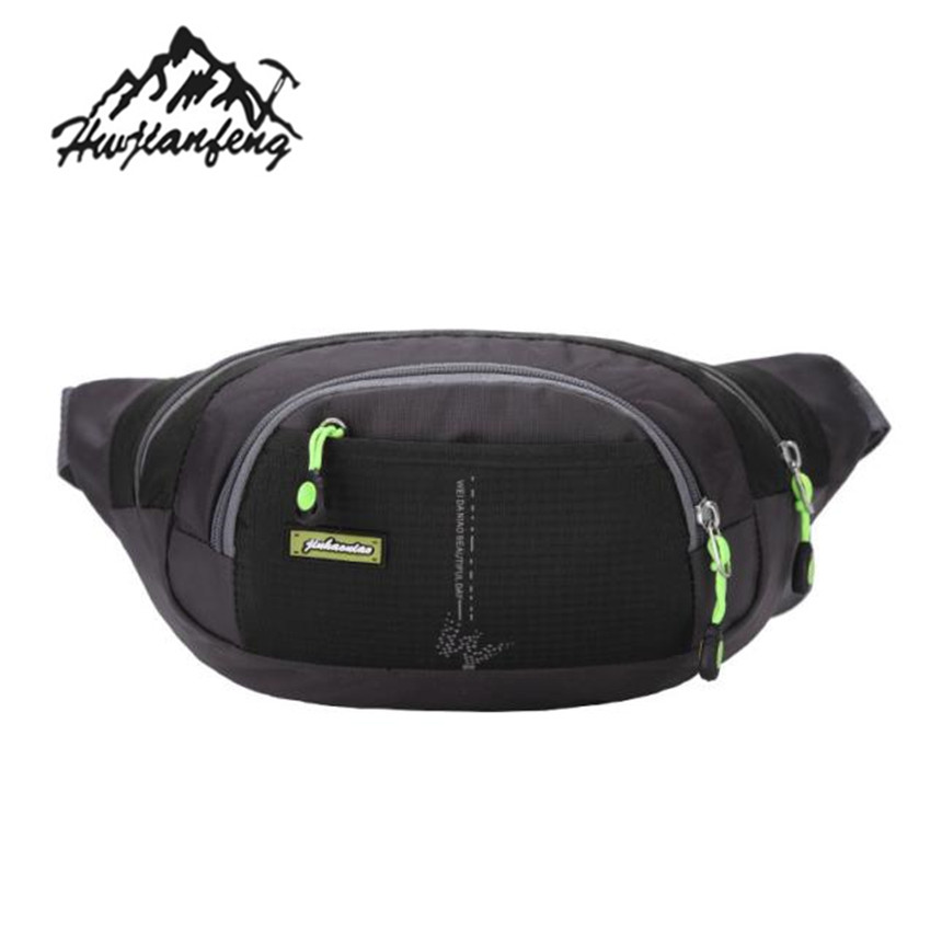 Skull And Butterfly Sport Waist Bag Fanny Pack Adjustable For Hike