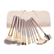 Premium Synthetic Kabuki Makeup Brush Set Cosmetics Foundation Blending Blush Face Powder Makeup Brush Kit 12/18/24pcs in 1set недорого
