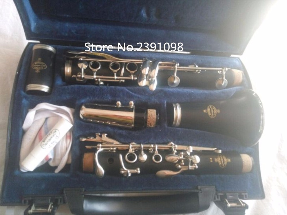 все цены на  High Grade Buffet 1986 B12 Clarinet 17 Key Crampon&Cie Apris Clarinet With Black Case Bakelite Tube Clarinet Musical Instruments  онлайн
