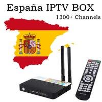 CSA93 Android TV Box Spanish IPTV Arabic Spain French UK Israel IPTV Subscription 3GB 32GB Amlogic