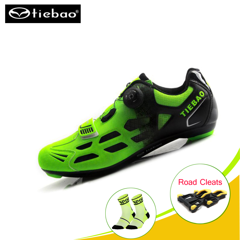 TIEBAO shoes cycling road sapatilha ciclismo road bike sneakers Breathable Pro Self-Locking bicicleta Cycling Bike Riding shoesTIEBAO shoes cycling road sapatilha ciclismo road bike sneakers Breathable Pro Self-Locking bicicleta Cycling Bike Riding shoes