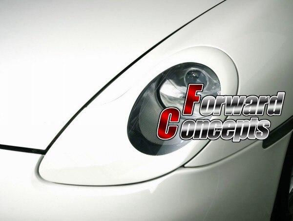 Для 1 отверстия 996 911986 Boxster фары покрывает веки стима