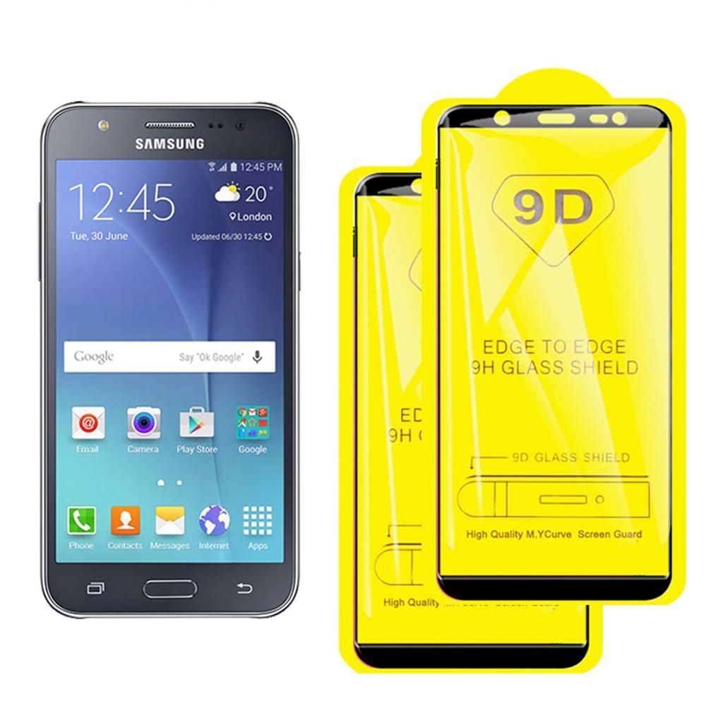 Full Cover Tempered Glass For Samsung Galaxy J3 J2 pro J5 J7 Prime Screen Protector J4 J6 J8 2018 Protective glass film 100PCS in Phone Screen Protectors from Cellphones Telecommunications