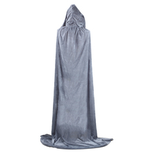 Long Cloaks Hood and Capes Spooky Velvet Dress For Adults