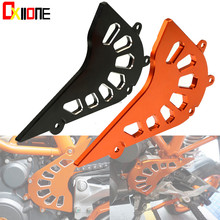 CNC Motorcycle Front Sprocket Cover Engine Chain Guard Case Protection Aluminum For KTM 390 Duke 2013-2015 RC390 2014-2015 цены